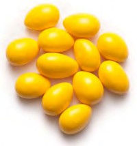 Jordan Almonds - Yellow 5LB