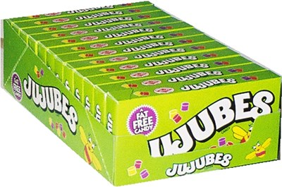 Jujubes Theater Size Boxes 12ct.