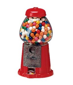 Junior Gumball Machine 2lb