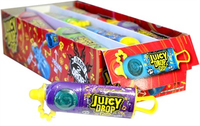 Juicy Drop Pop Candy 18ct