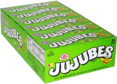 Jujubes Candy 24ct (DISCONTINUED)