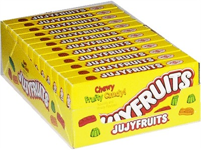 Jujyfruits Theater Size Boxes 12ct.
