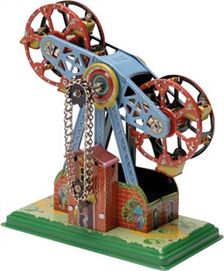 Tin Windmill Double Ferris Wheel (DISCONTINUED)