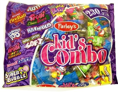 Kid's Candy Combo Party Mix 230ct. (DISCONTINUED)