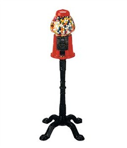 King Gumball Machine w/ stand