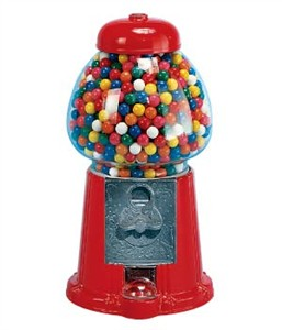 Carousel Gumball Machine King