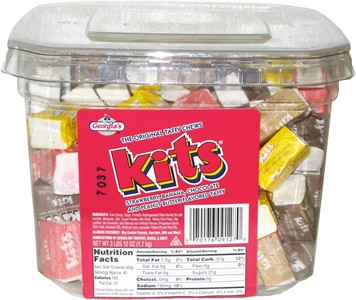 Kits Original Taffy Chews 144ct Tub (Sold Out)