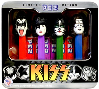 KISS Band PEZ Dispensers Limited Edition (sold out)