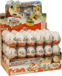 "Kinder ""Magic Sport"" Surprise Eggs 72ct. (DISCONTINUED)"
