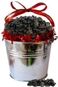 Large Coal Filled Tin Bucket (sold out)
