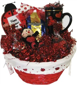 Lady Bug Gourmet Coffee & Candy Basket (sold out)