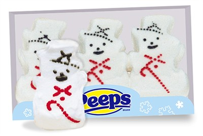 Snowman Marshmallow Peeps (Sold Out)