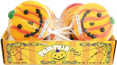 Halloween Pumpkin Pops 12ct. (Sold Out)