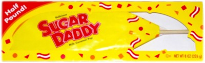 Sugar Daddy GIANT Pop - Half Pounder