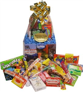 LAS VEGAS NOSTALGIC CANDY BASKET (Sold Out)