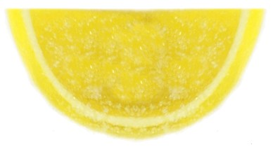 Jelly Fruit Slices Unwrapped - Lemon - 1LB