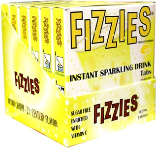 Fizzies Candy Drink Tablets - Lemonade 6ct.