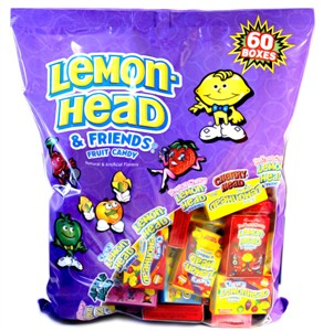Lemonhead and Friends Fruit Candy Boxes 60ct. (sold out)