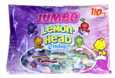 Lemonhead and Friends Jumbo Fruit Candy 110ct.  (Coming Soon)