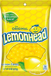Lemonheads Candy 22oz Bag
