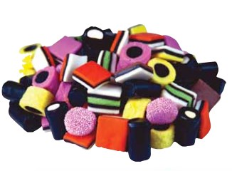 Licorice Allsorts Bulk 6.6LB