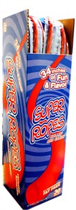 Licorice Super Ropes 34 inch 30ct. (Sold Out)