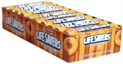Lifesavers Butter Rum Candy Rolls 20ct