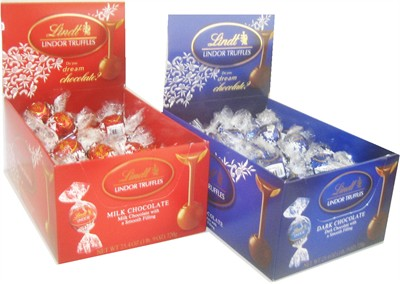 Lindt Lindor Truffles Milk or Dark Chocolate 60ct (Discontinued)