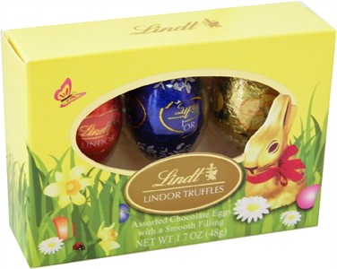 Lindt Lindor Truffles Assorted Chocolate Eggs (Discontinued)