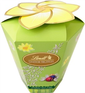 Lindt Lindor Assorted Truffles Flower Box 6.8oz. (Discontinued)