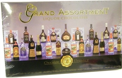 Liquor Chocolates Grand Assortment 4.1oz. (sold out)
