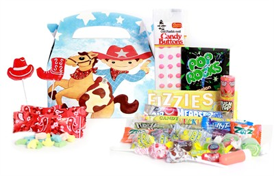 Little Cowboy Candy Assortment Gift Box