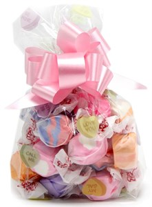 Conversation Hearts Filled Bag