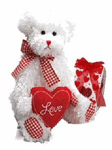 Plush Valentine Heart Bear (SOLD OUT)