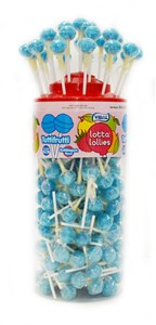 Lottalollies - Red Cherry Pops - 150ct.