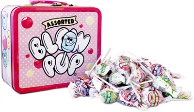 Blow Pops Metal Lunch Box Gift Assortment