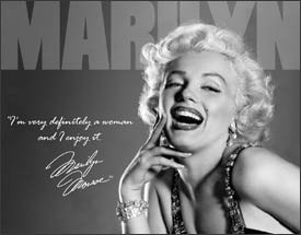 Marilyn Monroe - Definitely Retro Tin Sign (SOLD OUT)