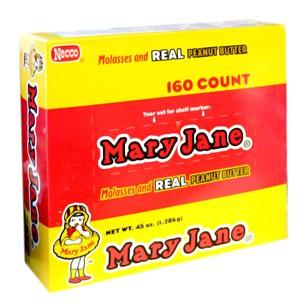Mary Janes Box 160ct.