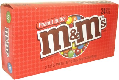 M&M's Peanut Butter Chocolate 24ct. (SOLD OUT)