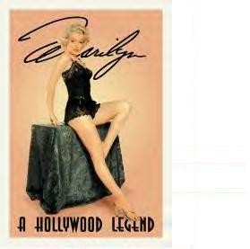 Marilyn Monroe Hollywood Legend (SOLD OUT)
