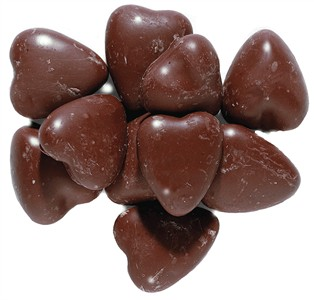 Marshmallow Chocolate Hearts Bulk 1lb (sold out)