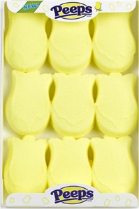 Marshmallow Easter Tulip Peeps 9ct. (DISCONTINUED)