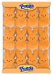 Marshmallow Peeps Orange Easter Bunnies 12ct. (Sold Out)