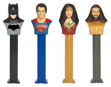 PEZ Dispensers DC COMICS 12ct.