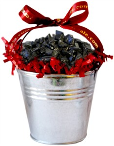 Medium Coal Filled Tin Bucket (sold out)