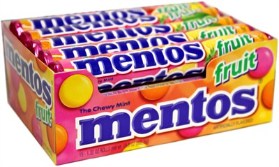 Mentos Chewy Mints
