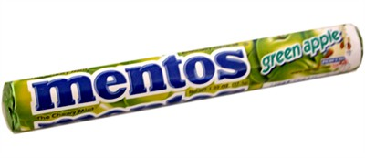 Mentos - Green Apple Chewy Mints Roll (Sold out)