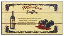 Merlot Wine Truffles with Milk Chocolate 12ct. (Sold Out)
