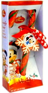 Mickey Christmas Candy Cane with Ceramic Keepsake (Sold Out)