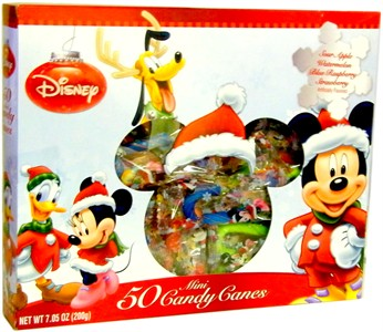 Disney's Mini Candy Canes 50ct. (Sold Out)
